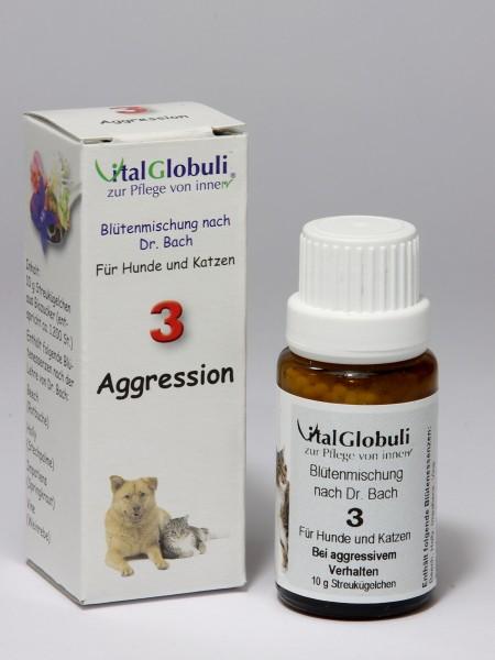 Nr. 3 Aggression - 10 gr. Globuli