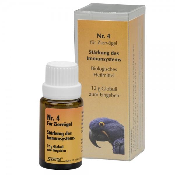Nr. 4 Immunsystem - 12 gr. Globuli