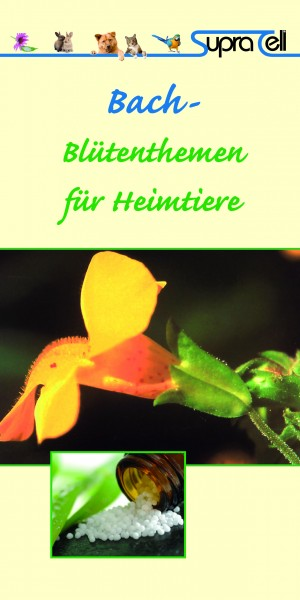 Broschüre zur Bachblüten Serie - 1 Broschüre. Globuli