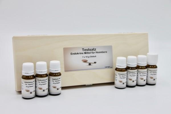 Testset 7 x 10 g Globuli im Holzetui