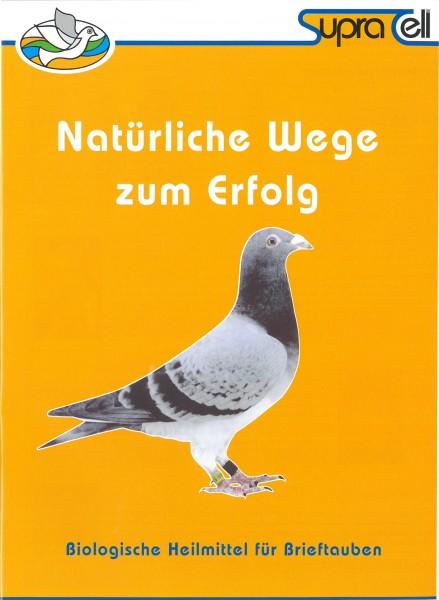 Broschüre zur Brieftauben Serie - 1 Broschüre.