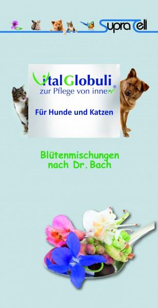 Broschüre - Vital Globuli für Hund / Katze